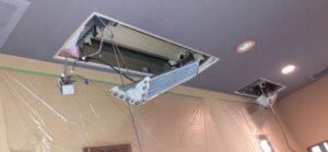 天井カセットエアコン2方向分解